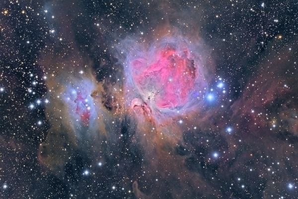 Nebulosa de Orión: Crédito: Gustavo Sánchez/Captando el Cosmos