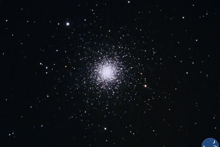 Cúmulo estelar Messier 3, en la constelación de Canes Venatici. Crédito: Gustavo Sánchez/Captando el Cosmos