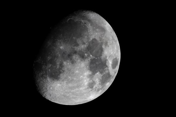 Luna Gibosa Creciente. (Crédito: Observatorio Guajataca)