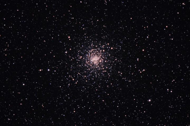 Messier 4 en la constelación del Escorpión (Crédito: Gustavo Sánchez/Observatorio Guajataca)