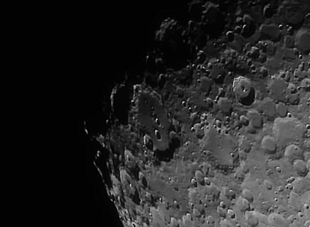 Cráter Clavius. (Crédito: Gustavo Sánchez/Observatorio Guajataca)