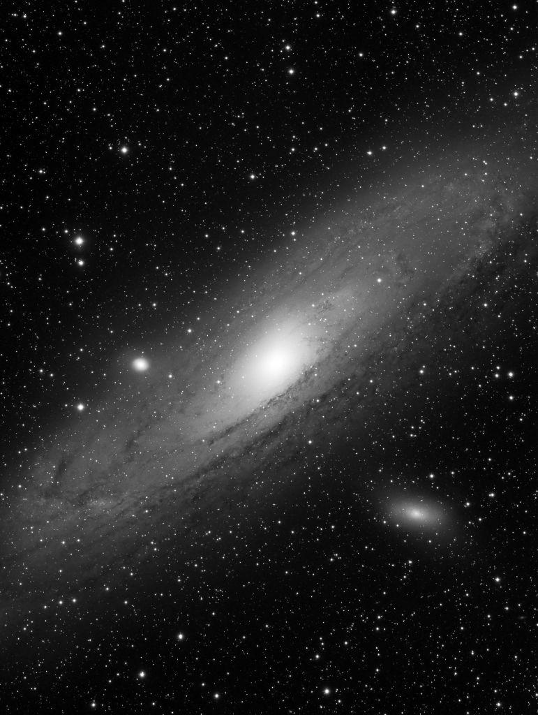 Messier 31 - Galaxia de Andrómeda. (Crédito: Gustavo Sánchez/Captando el Cosmos)
