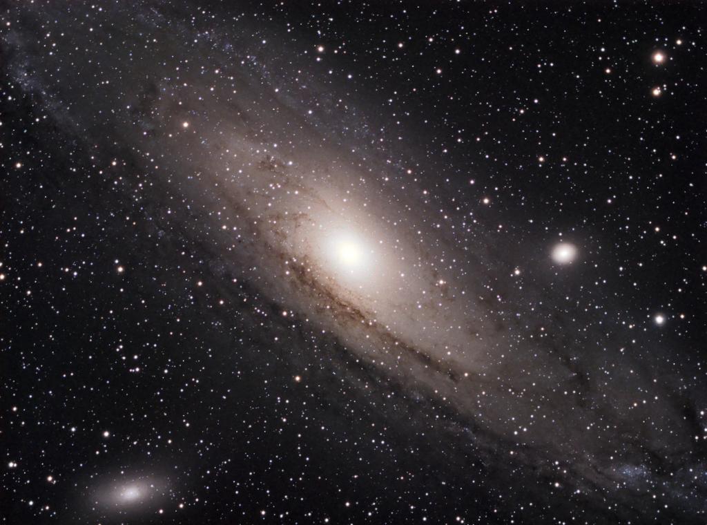 Messier 31 - Galaxia Espiral en Andrómeda. Crédito: Gustavo Sánchez/Captando el Cosmos