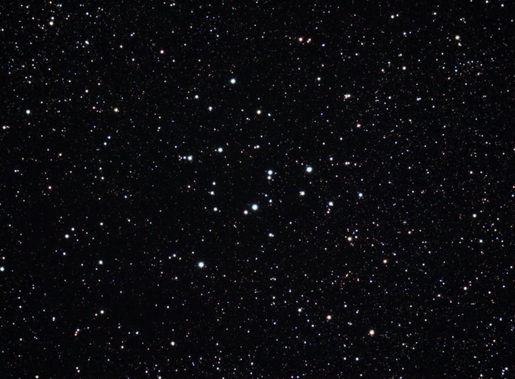 Messier 39 - Cúmulo Abierto en la constelación del Cisne