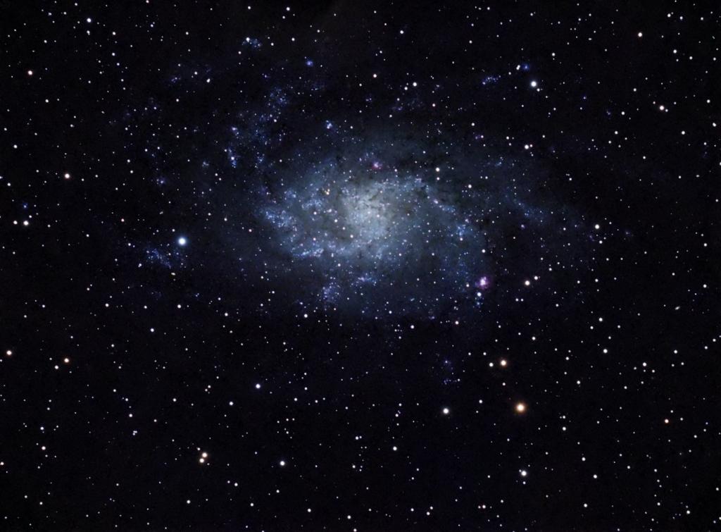 Messier 33 - Galaxia del Triángulo. Crédito: Gustavo Sánchez/Captando el Cosmos