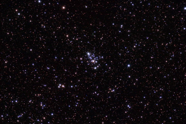 Messier 103 en Cassiopeia. (Crédito: Gustavo Sánchez/Captando el Cosmos)