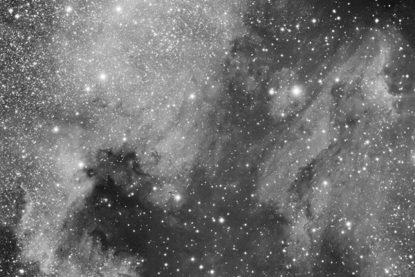Nebulosa de Norteamérica (NGC7000) y Nebulosa del Pelícano (IC 5070). Crédito: Gustavo Sánchez/Captando El Cosmos