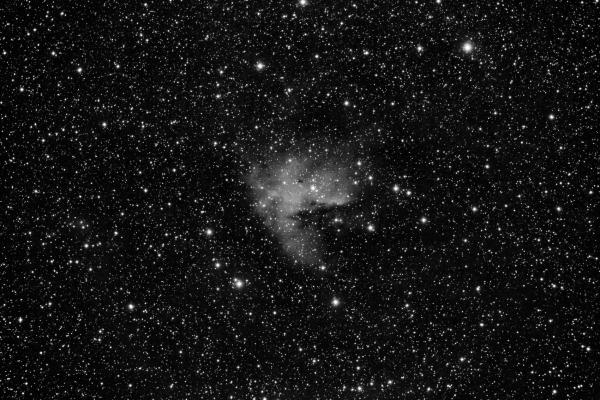 NGC 281 - Nebulosa de Pacman. Crédito: Gustavo Sánchez/Captando el Cosmos