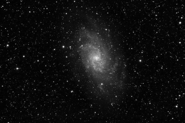 Galaxia de Triángulo (Messier 33). Crédito: Gustavo Sánchez/Captando el Cosmos.
