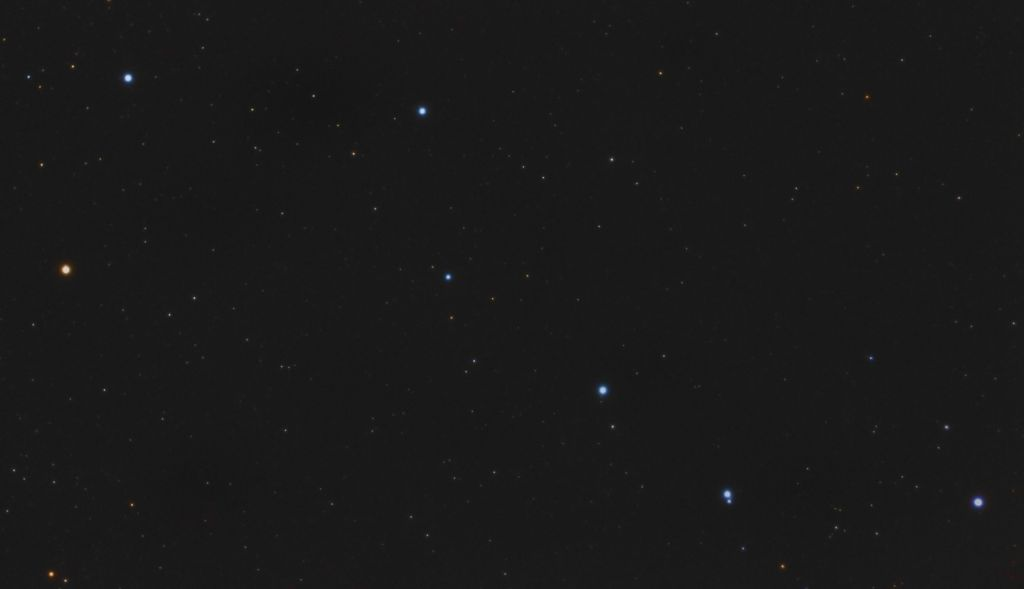 Constelación de la Osa Mayor. Crédito: Gustavo Sánchez/Captando el Cosmos