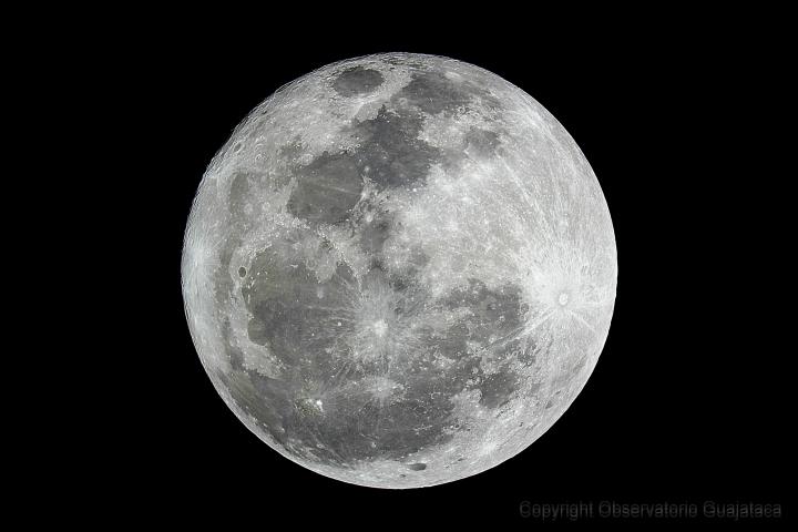 Luna Llena 25 de enero de 2013. Crédito: Gustavo Sánchez/Captando el Cosmos.