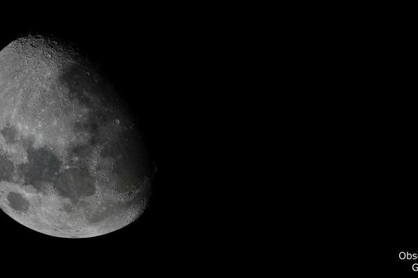 Conjunción de Júpiter y la Luna. Crédito: Gustavo Sánchez/Captando el Cosmos