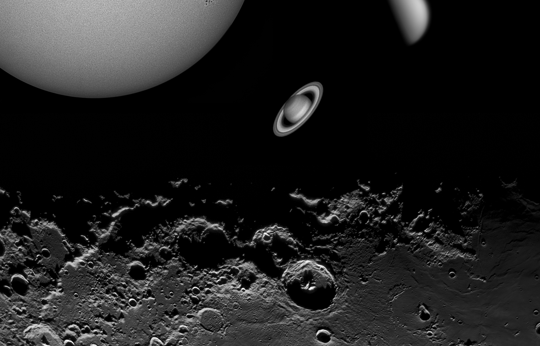 Astrofotografía Planetaria 2015. Crédito: Gustavo Sánchez / Captando el Cosmos
