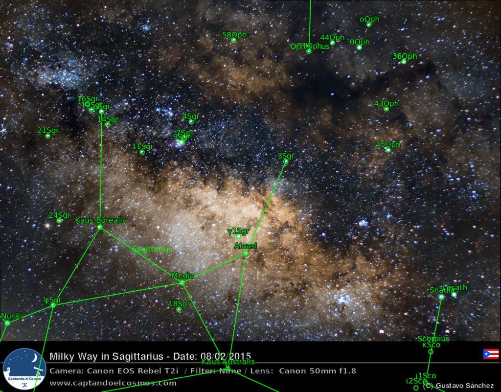 Versión anotada de la imagen superior. Tomado de astrometry.net