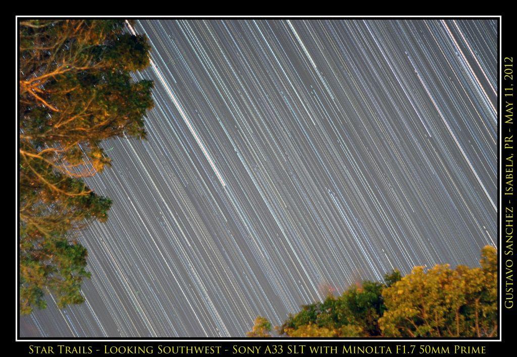 Mirando hacia el suroeste. Crédito: Gustavo Sánchez/Captando el Cosmos.