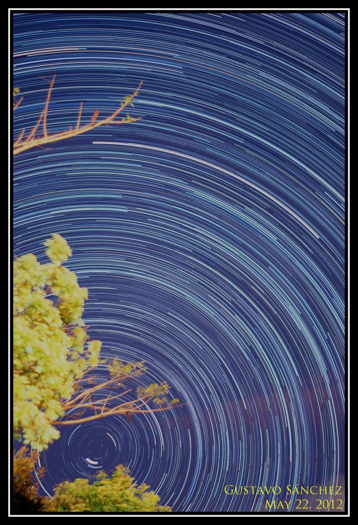 Mirando hacia el norte. Crédito: Gustavo Sanchez/Captando el Cosmos.
