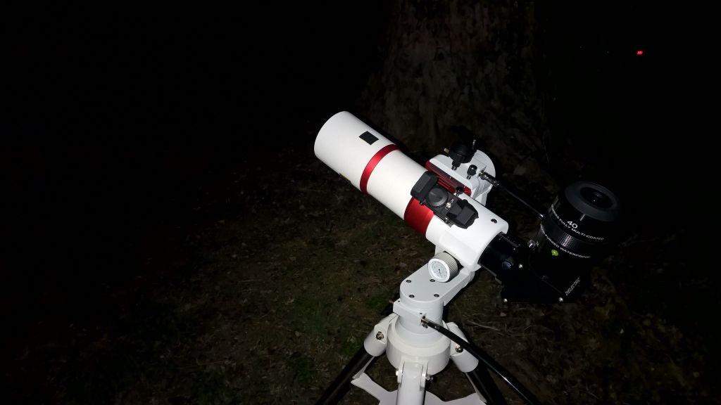 Telescopio William Optics ZenithStar 71ED.