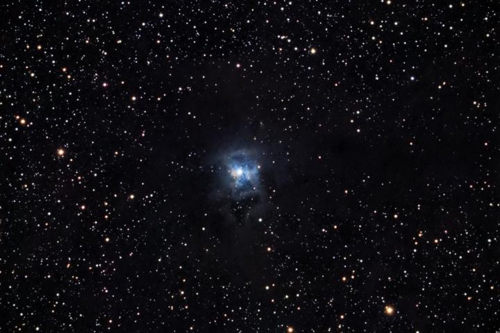 NGC 7023 - Nebulosa del Iris en la constelación de Cefeo. Crédito: Gustavo Sánchez/Captando el Cosmos