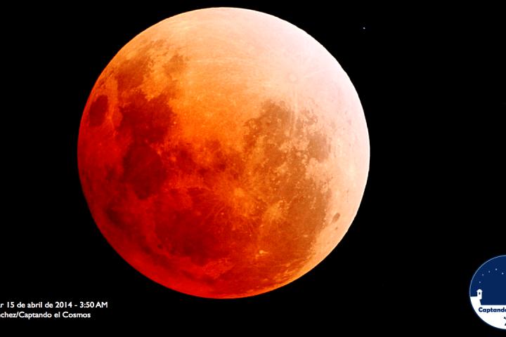 Total Lunar Eclipse April 15, 2014. Crédito: Gustavo Sánchez/Captando el Cosmos